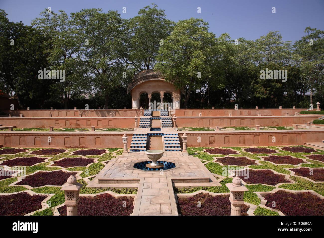Spa Garden The Oberoi Rajvilas Jaipur Rajasthan India