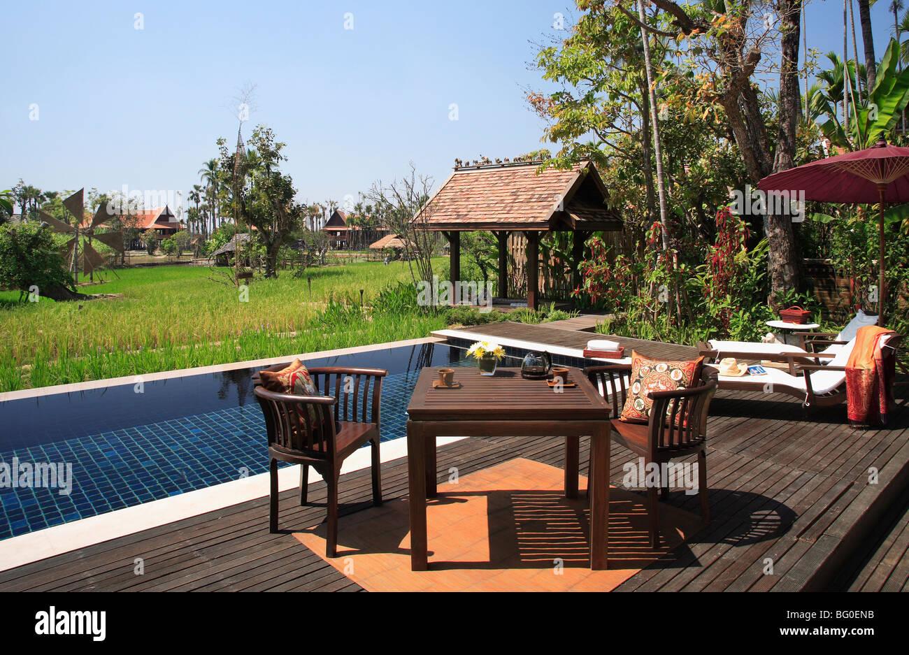 Pool Of Villa At The Mandarin Oriental Dhara Dhevi Hotel In