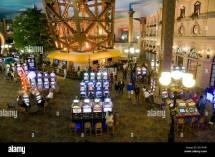 Interior Of Paris Las Vegas Casino Nevada Usa
