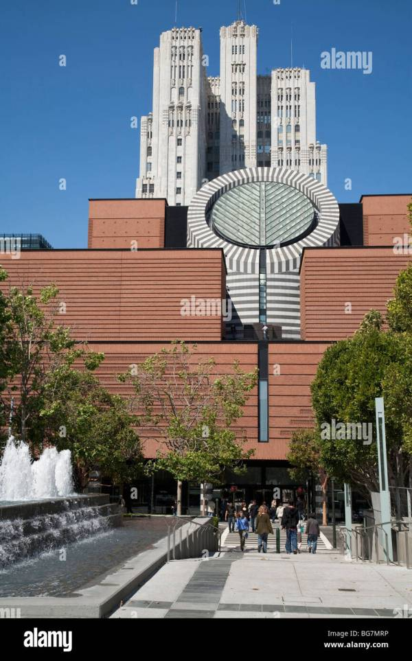 Museum Of Modern Art San Francisco Stock &