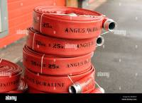 70mm Fire Hose reels by Angus Duraline Stock Photo ...