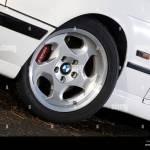 Bmw M5 E34 Shape 1988 To 1996 High Performance Luxury Saloon Car Stock Photo Alamy