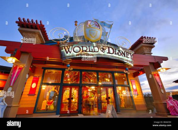 Downtown Disney Area World Of Front Orlando Florida Usa Stock 27405871 - Alamy
