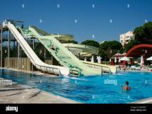Water Slides And Pool Cornelia Deluxe Hotel In