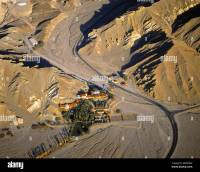 aerial view above Furnace Creek Inn and Ranch Resort Death