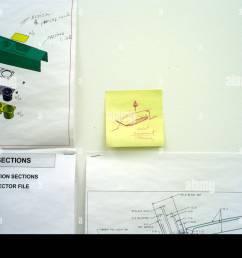 handwritten note on wall inside the gm tech center chevy volt lab warren mi 2009  [ 1300 x 964 Pixel ]