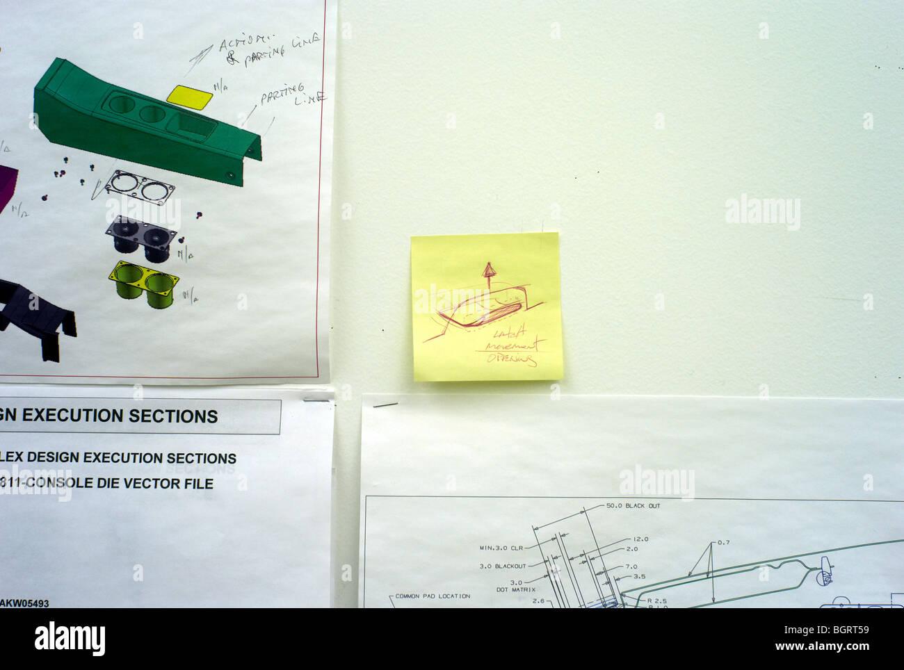 hight resolution of handwritten note on wall inside the gm tech center chevy volt lab warren mi 2009