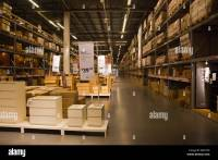 Warehouse area at the Ikea Store in Red Hook Brooklyn, New ...