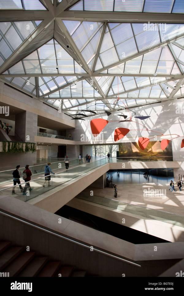 I.M. Pei National Gallery of Art Washington DC Plan
