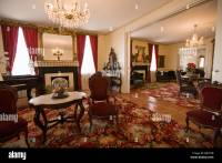 First White House of the Confederacy, interior, Montgomery ...