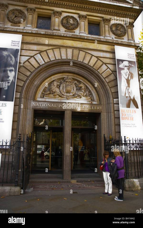 National Portrait Gallery London UK