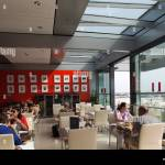 Roof Terrace Garden Restaurant In The Reichstag Berlin Germany Stock Photo Alamy