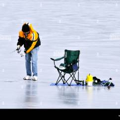 Ice Fishing Chair Maplestory A Rudin Chairs Stock Photos And Images