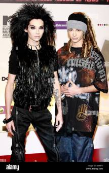 Bill And Tom Kaulitz Tokio Hotel Pop Band Liverpool Echo