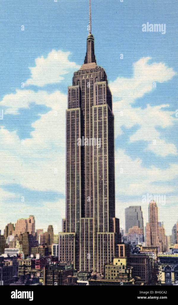 Empire State Building 1930s Stock & - Alamy