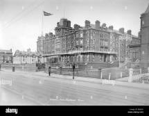 Imperial Hotel Blackpool Lancashire 1890-1910 Stock