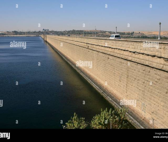 The Low Dam In Aswan Egypt