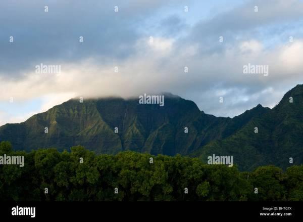 Hawaii Kauai Camping Stock & - Alamy