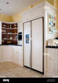 Interiors Modern Kitchens Fridge Freezers Stock Photos ...