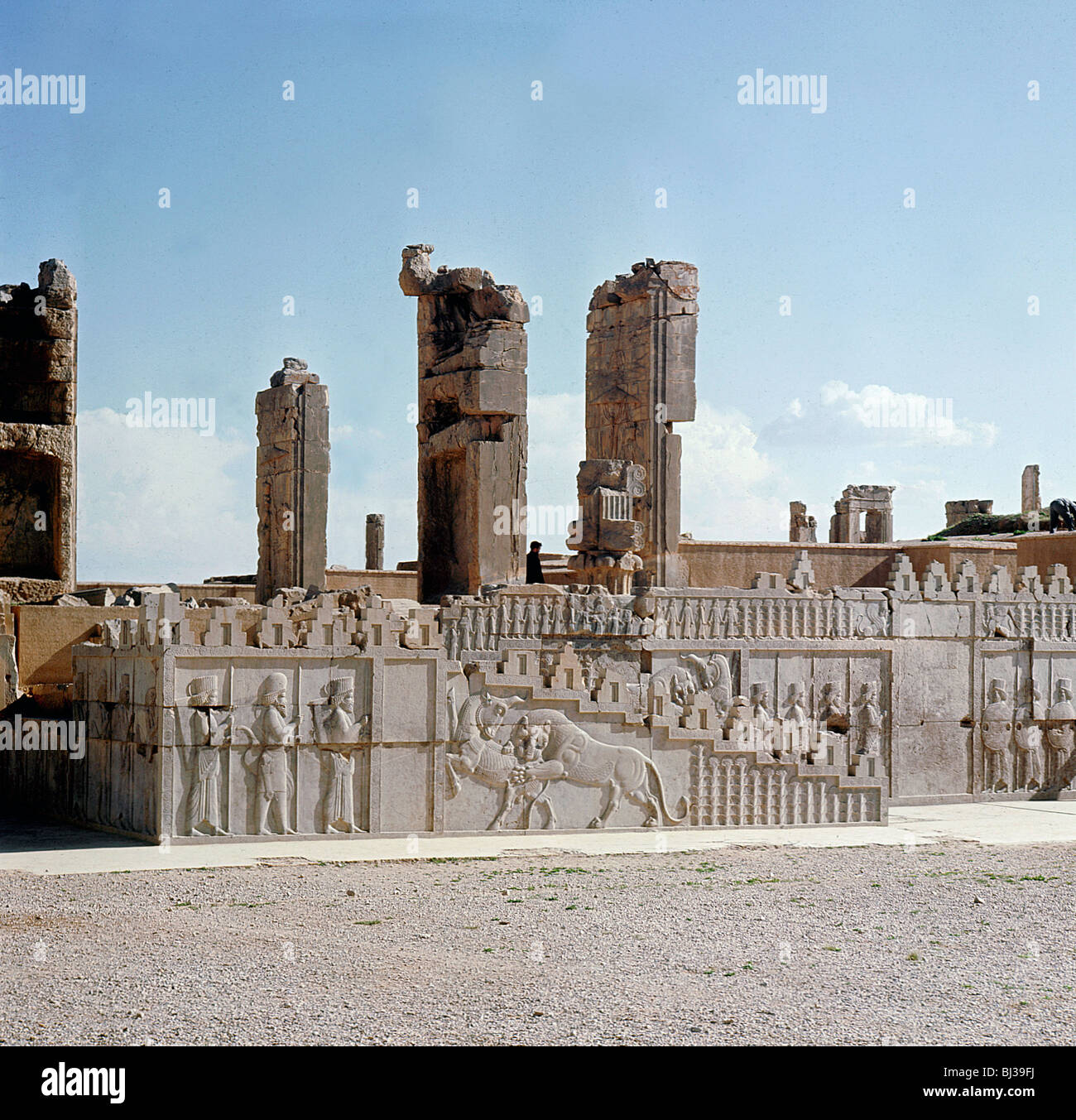 Best Kitchen Gallery: Relief Carving Ruins Of The Ancient Persian City Of Persepolis of Ancient Persian Architecture on rachelxblog.com