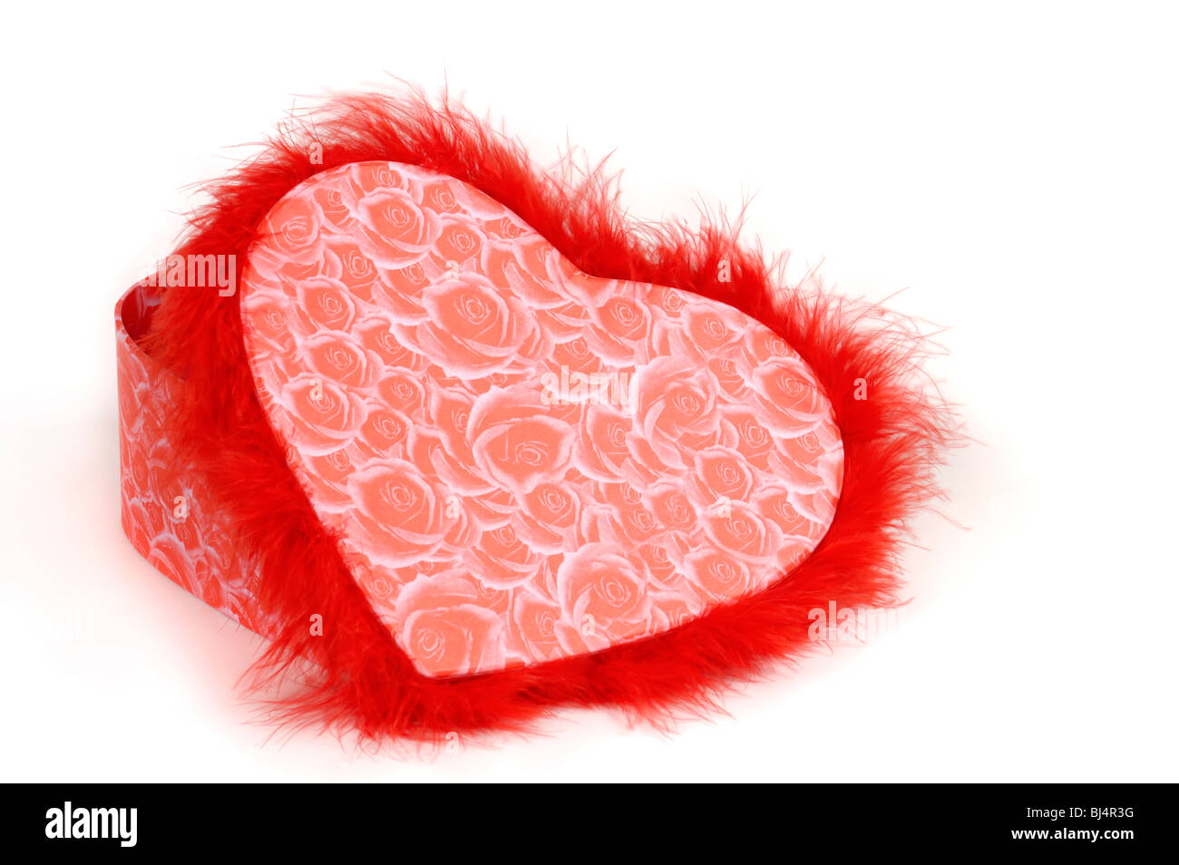 lovely heart shaped red