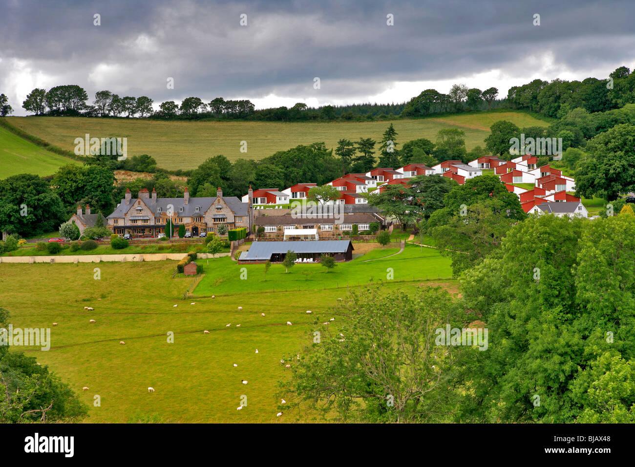 Harcombe House Chudleigh Village Devon England Uk Stock