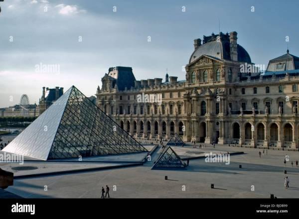 Glass Pyramid France Paris