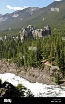 Fairmont Banff Springs Hotel Stock &