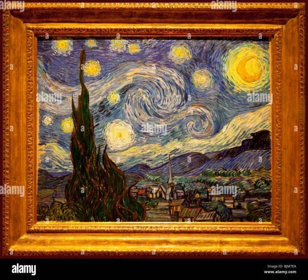 Starry Night Van Gogh Museum