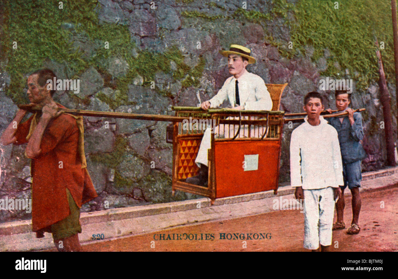 chinese wedding sedan chair dwr salt review man being carried on a hong kong 20th