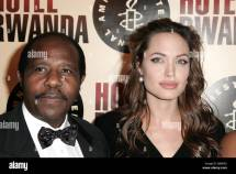 Angelina Jolie Hotel Rwanda Film Stock &