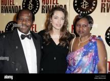 Angelina Jolie & Paul Rusesabagina. Tatiana Rusesabagina