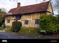 Old Wooden Beam Constructed Tudor Style House In The ...