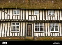 Timber Framed Tudor House Chapel Street Bildeston Suffolk