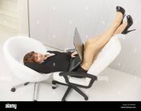 Legs Young Woman In Pantyhose Stock Photos & Legs Young