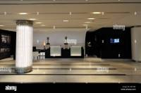 Modern Hotel Reception Area Stock Photo, Royalty Free ...