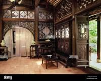 Traditional style Vietnamese house, Hanoi, Vietnam ...