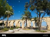 Upper Barracca Gardens In Valletta Malta Europe Stock