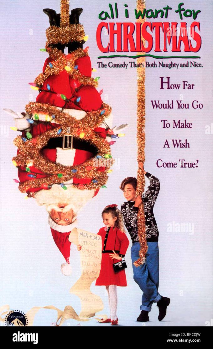 all i want for christmas cast cards - All I Want For Christmas 1991