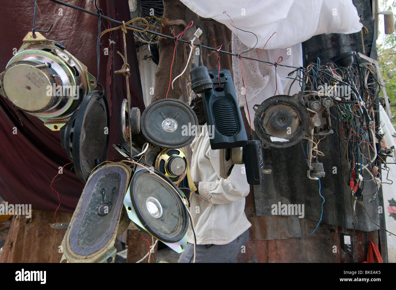hight resolution of second hand loudspeakers for sale in port au prince haiti stock image