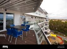Room Balcony Ocean Hotel Butlins Bognor Regis Stock