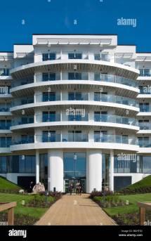 Exteriors Of Ocean Hotel Butlins Bognor Regis Stock