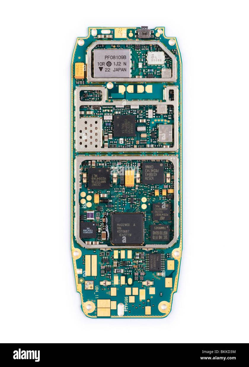 Nokia 1280 Mobile Phone Circuit Diagram 2020
