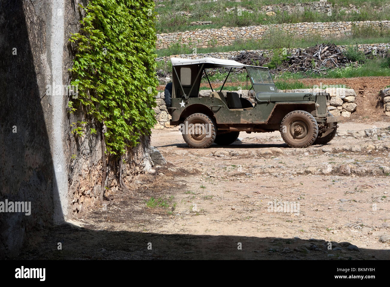 hight resolution of wwii willy s us army jeep in france