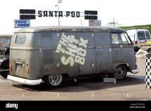 Volkswagen Panel Van Santa Pod Raceway England