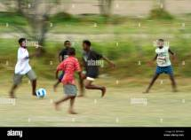 Photos of African Children Playing Soccer