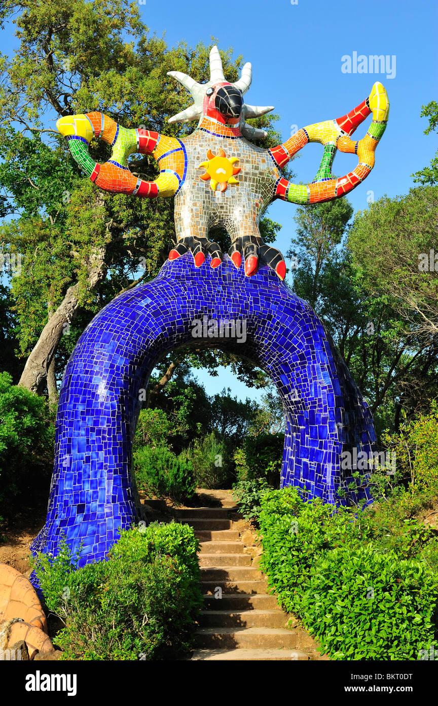 Le Jardin Des Tarots : jardin, tarots, Tarot's, Garden,, Capalbio,, Tuscany,, Italy, Stock, Photo, Alamy