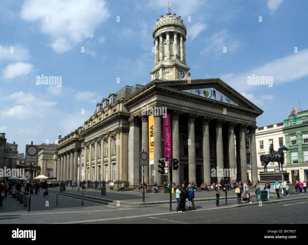 Glasgow Of Modern Art Royal Exchange Square In