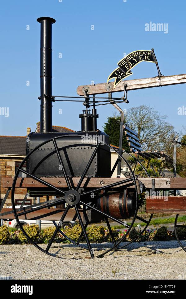 "Replica Of "" Murdoch Flyer Steam Engine"