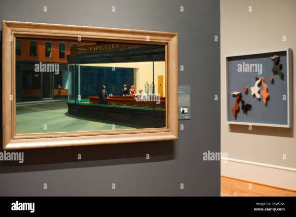 Edward Hopper Nighthawks Stock &